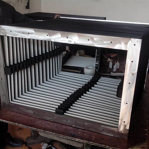 方形風琴防護罩